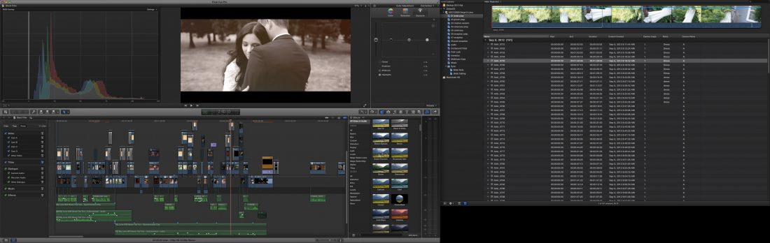 FCPX-editing-wedding